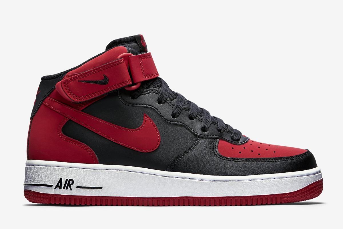 livraison rapide réduction wiki pas cher Nike Air Force 1 Mi 07 Salle De Sport Noir / Rouge Éclipse Jordanie vente abordable explorer en ligne achat de sortie g6tT7DAIw