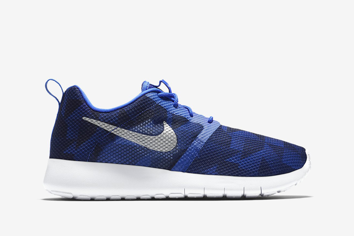 Nike Roshe One Flight Weight (GS) Game Royal Metallic Silver