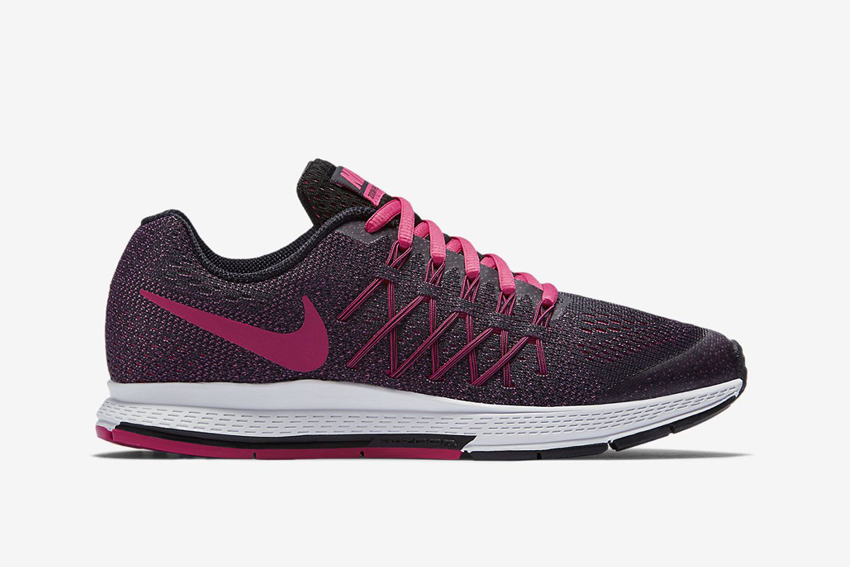 nike air zoom pegasus black pink