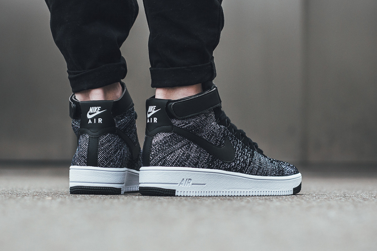 air force 1 ultra flyknit - black