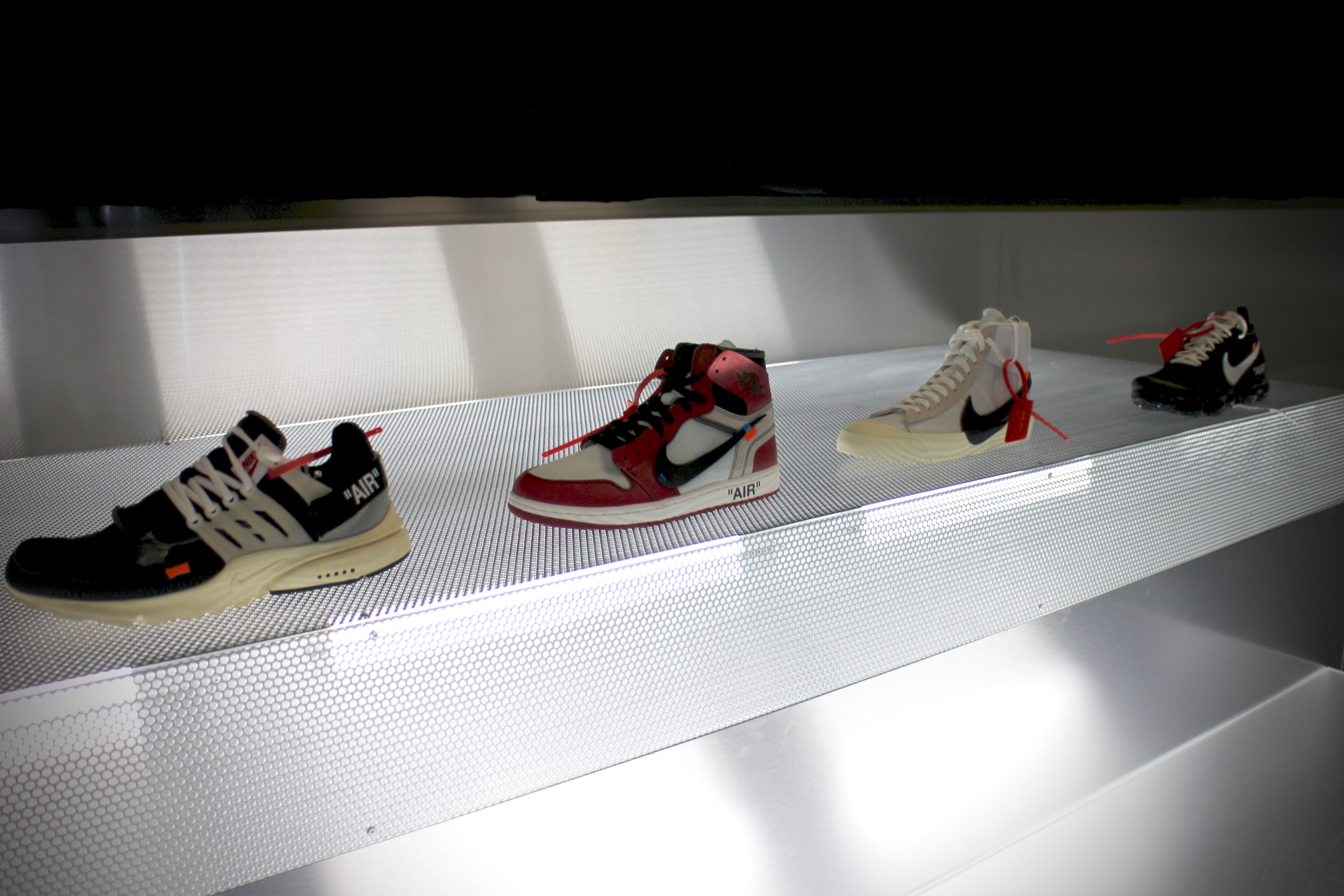 EU Kicks Sneaker News Nike 'Ten Icons Reconstructed' by Virgil Abloh –  London Recap Pt 1