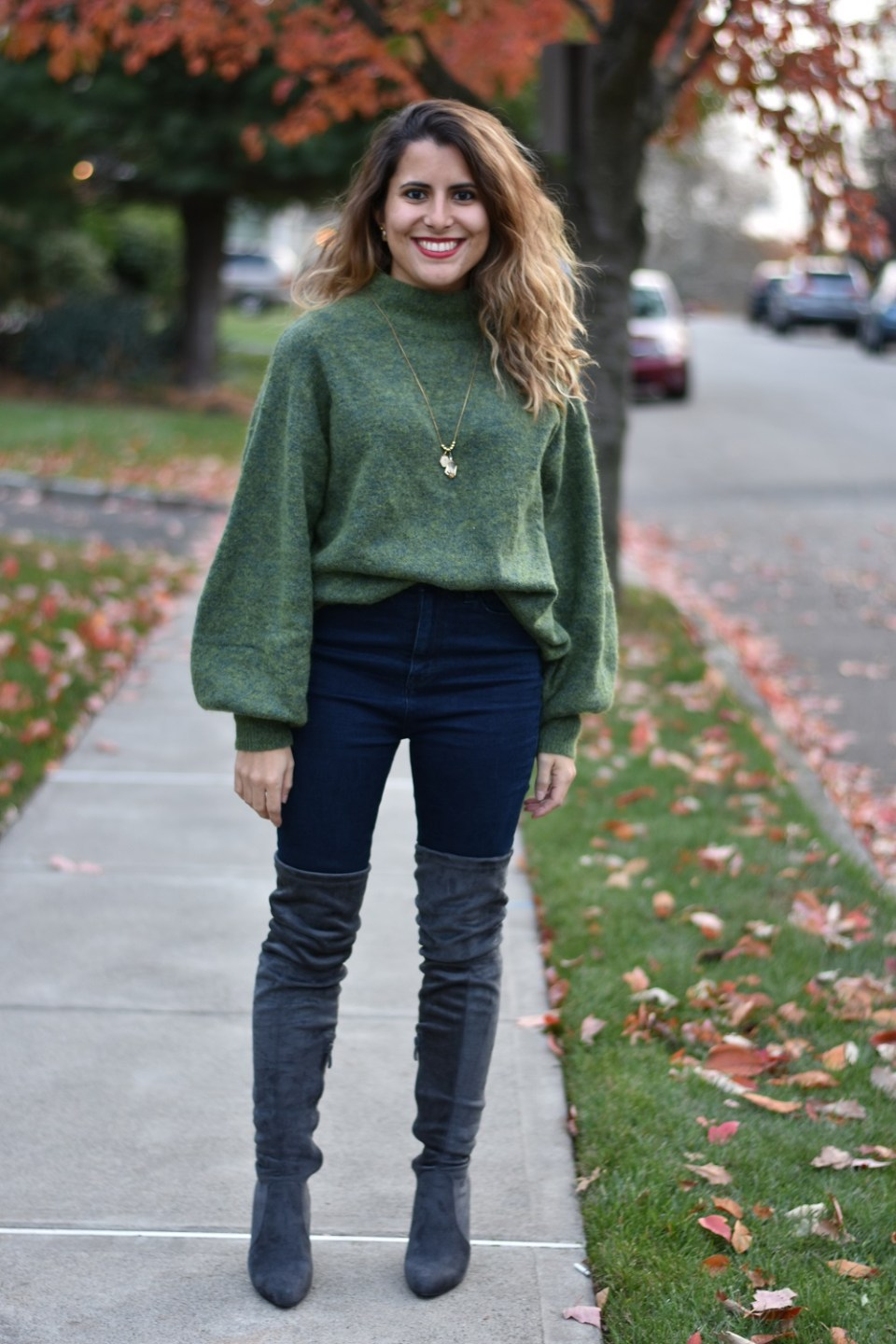 How to Dress Up a Casual Sweater