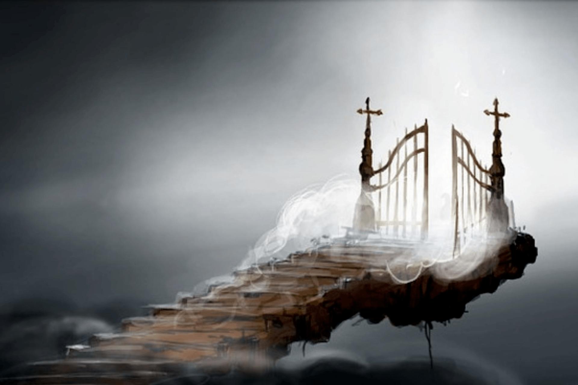 Image result for christ gates of heaven