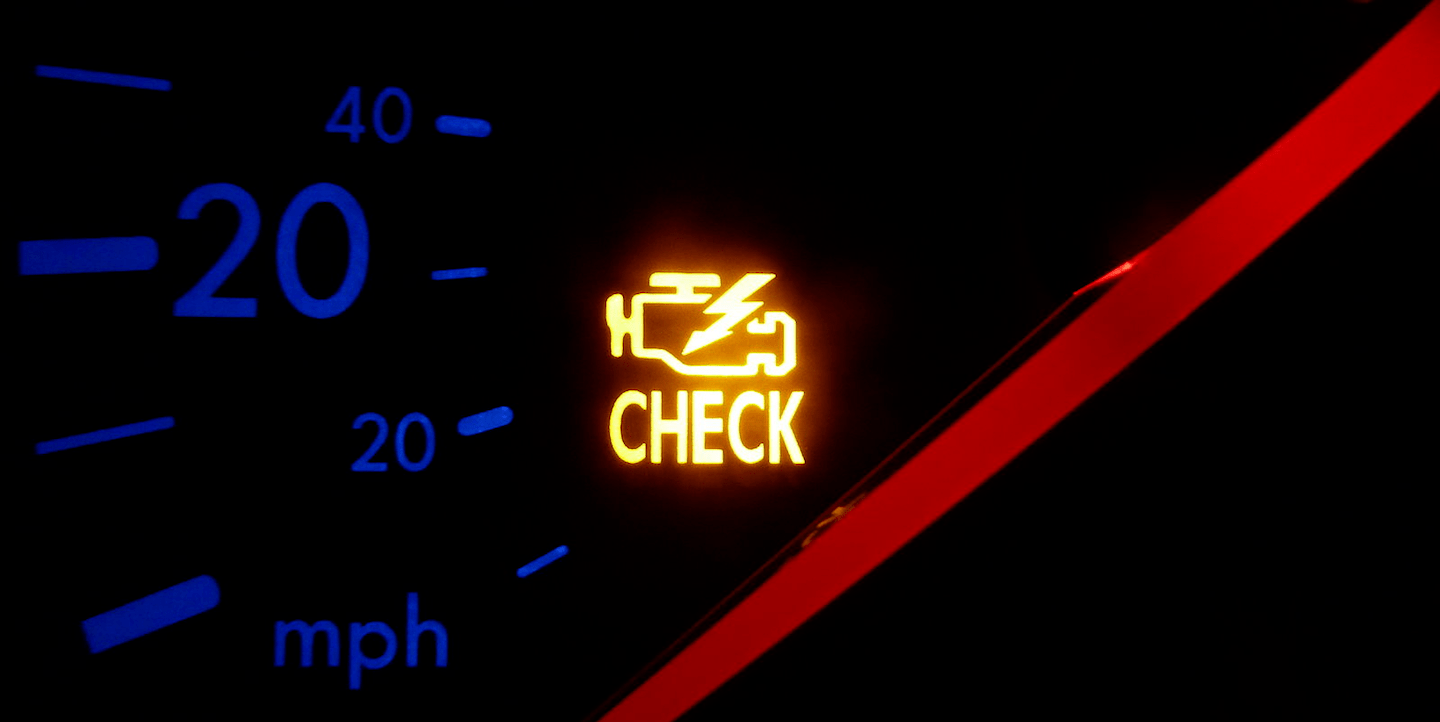 they all go out except one the check engine light or malfunction indicator lamp mil now it s staying on and won t go off again at all  [ 1440 x 722 Pixel ]