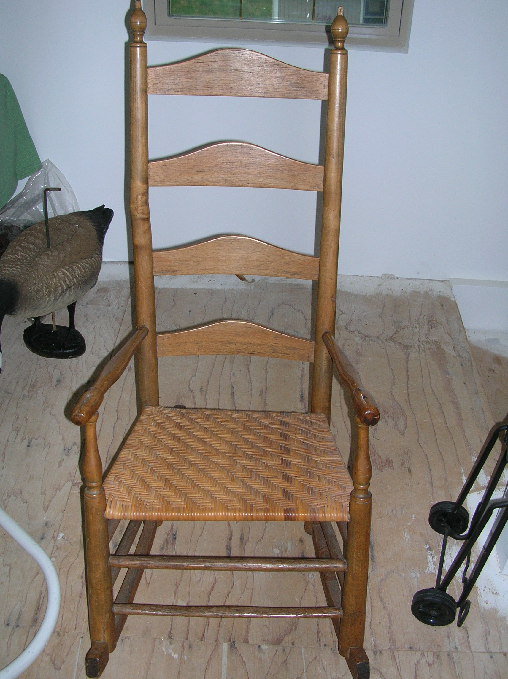 antique rocking chair identification coleman captain s with table i need an appraisal of my which been