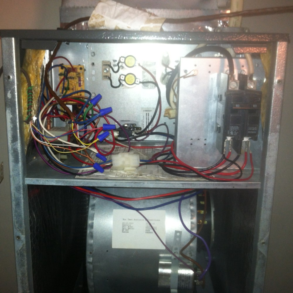 medium resolution of goodman electric furnace single element wiring diagram electric furnace sequencer wiring diagram hello im a new homeowner and new to