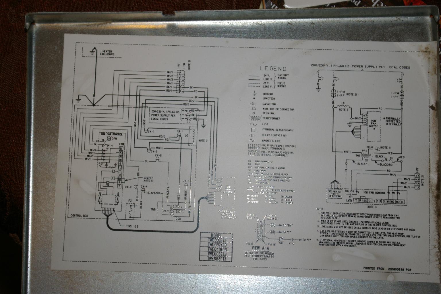 Rheem Hvac Wiring Diagrams