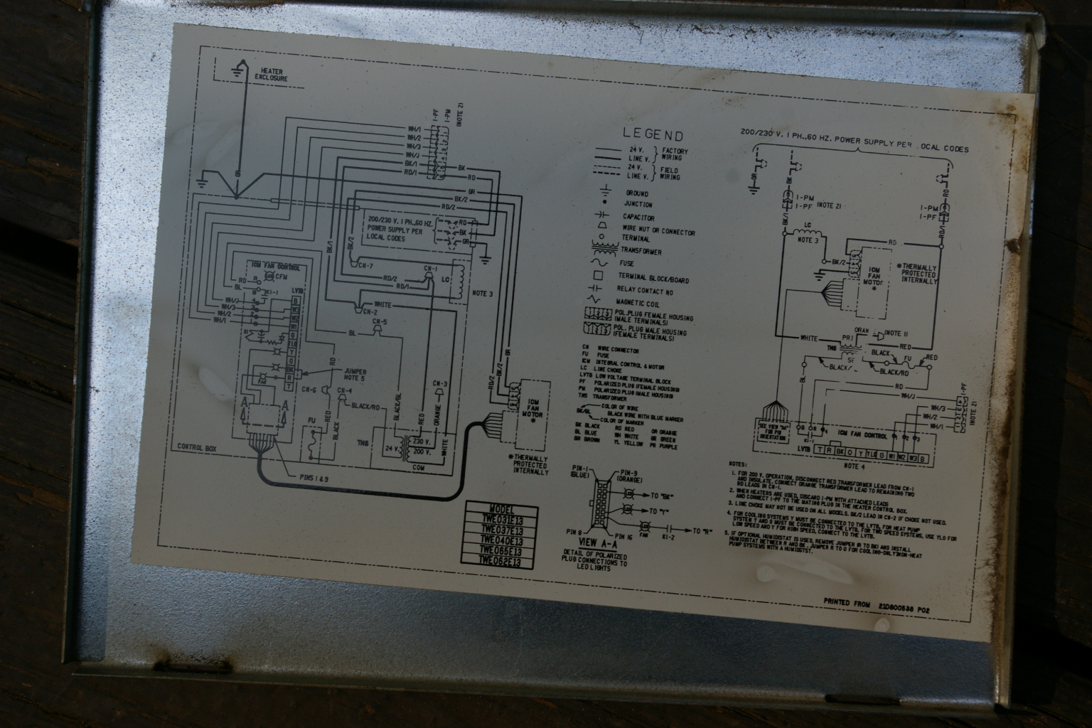 trane xl1200 heat pump wiring diagram whirlpool microwave door switch thermocore split system
