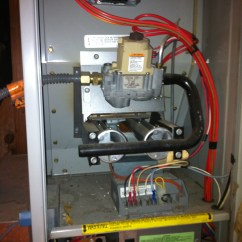 Old Rheem Air Handler Wiring Diagram H4 Headlight Bulb Hello I Have A Unit And Replaced The Wall Thermostat