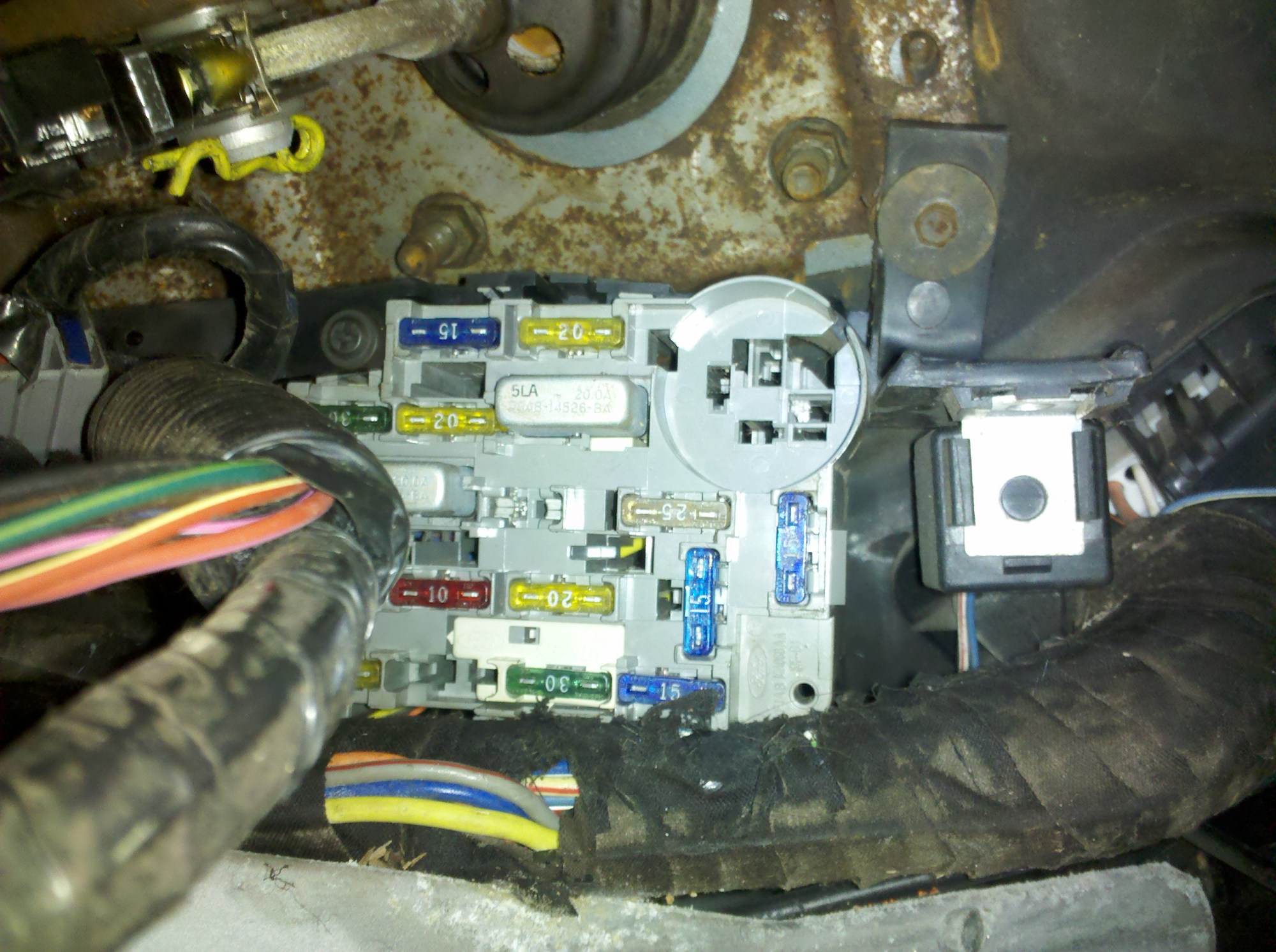 hight resolution of 2011 ford f550 fuse box location wiring library1996 lincoln town car fuse box location 14