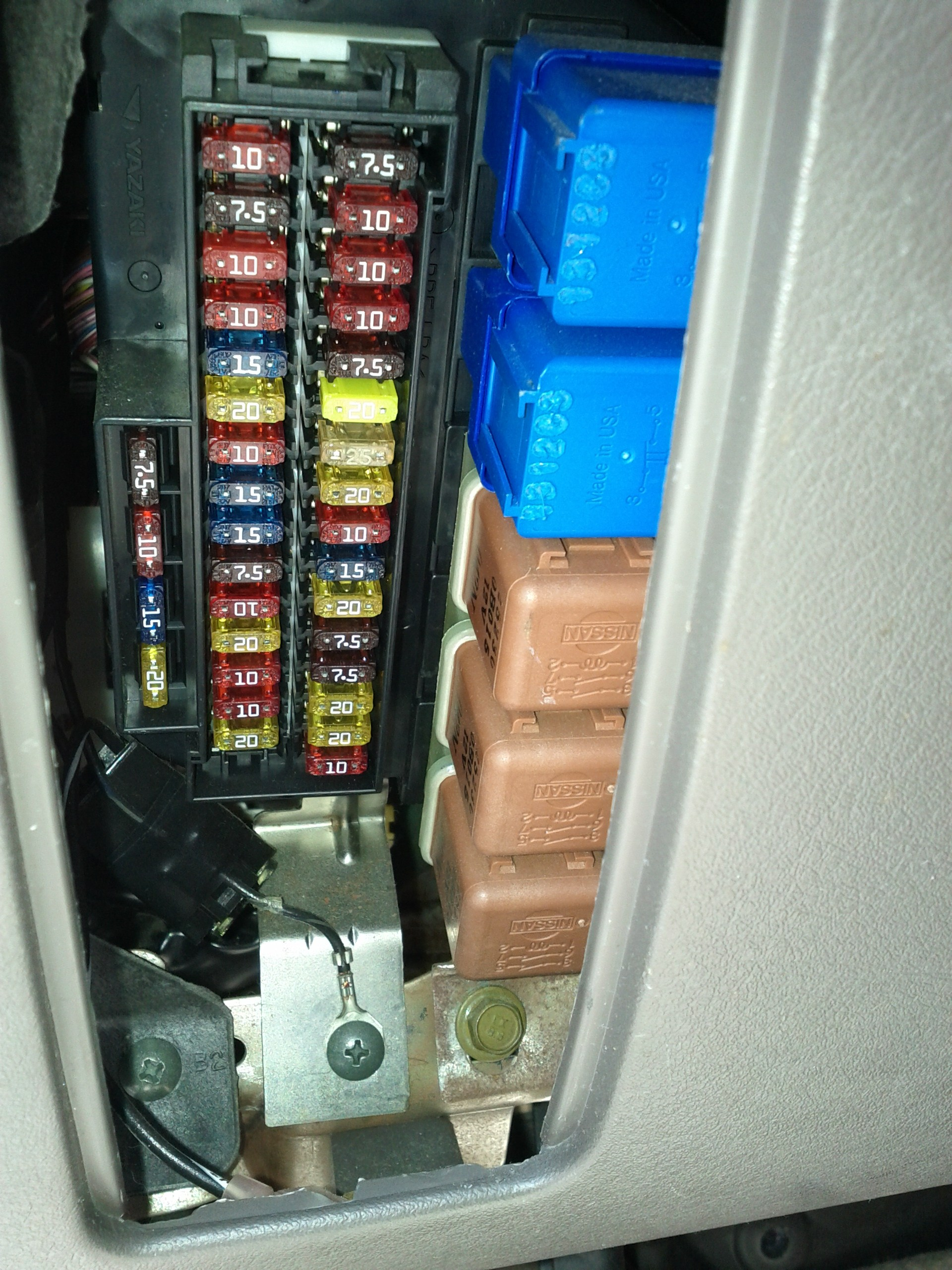 2000 nissan sentra fuse box diagram wiring ford f150 2004 flasher relay location get