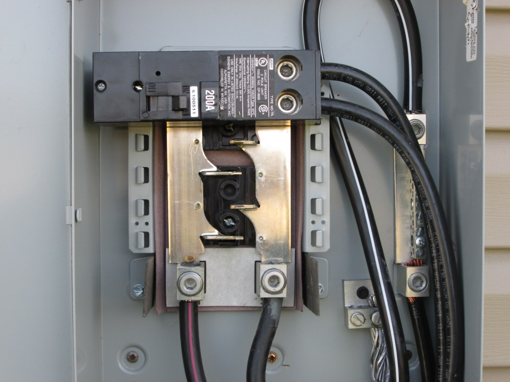medium resolution of how to run power from 200 amp service disconnect to 100 amp 200 amp service panel wiring diagram