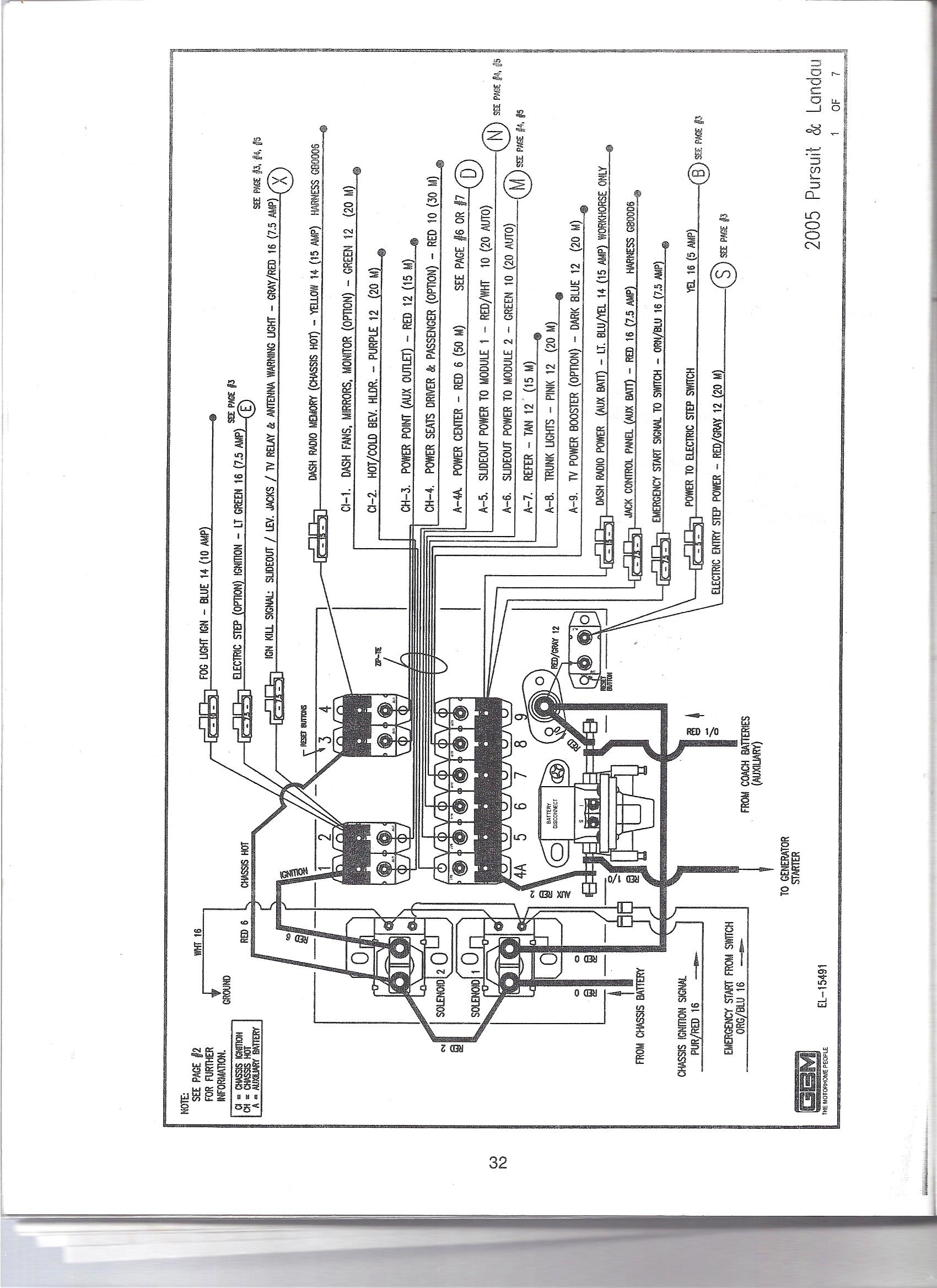 fleetwood rv wiring diagrams 7 pin trailer diagram flat for 1990 georgie boy motorhome get