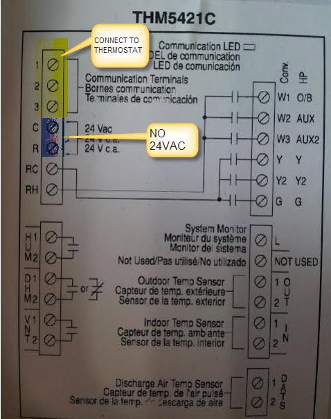 fuse switch wiring diagram tach as i was removing the honeywell thermostat off of wall