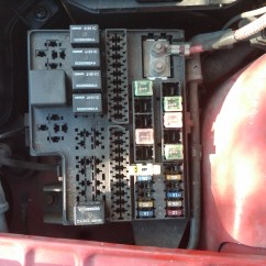 2005 Dodge Neon Fuse Box Diagram Cat5e Wiring Wall Plate 1998 The Odometer Window It Flashes Word