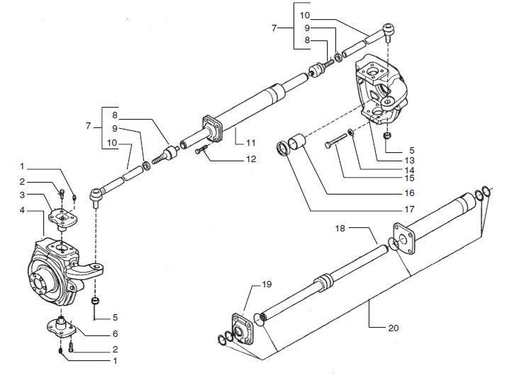 I have a Farmtrac 545XXXXXwith Hydrostatic steering.