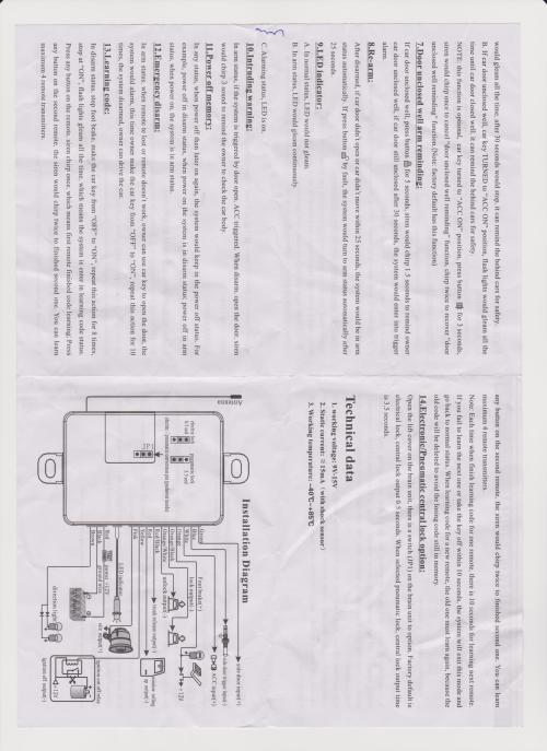 small resolution of car security installation diagram