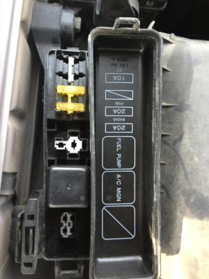 Lexus ES300: Ive change the large 4 prong fuse located on
