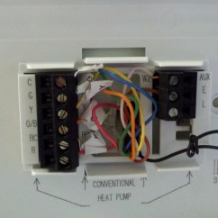Janitrol Hpt18 60 Thermostat Wiring Diagram Allen Bradley Safety Diagrams I Just Replaced A Jantrol With Honeywell Rth7500