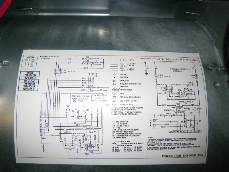 Goodman Air Handler Wiring Diagrams Lzk Gallery