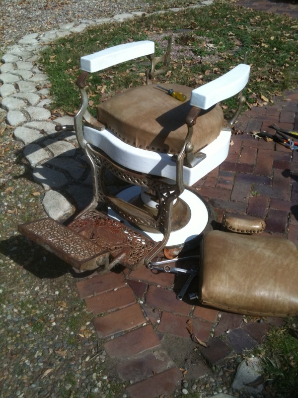 barber chair parts dining room covers ireland vintage koken heritage malta