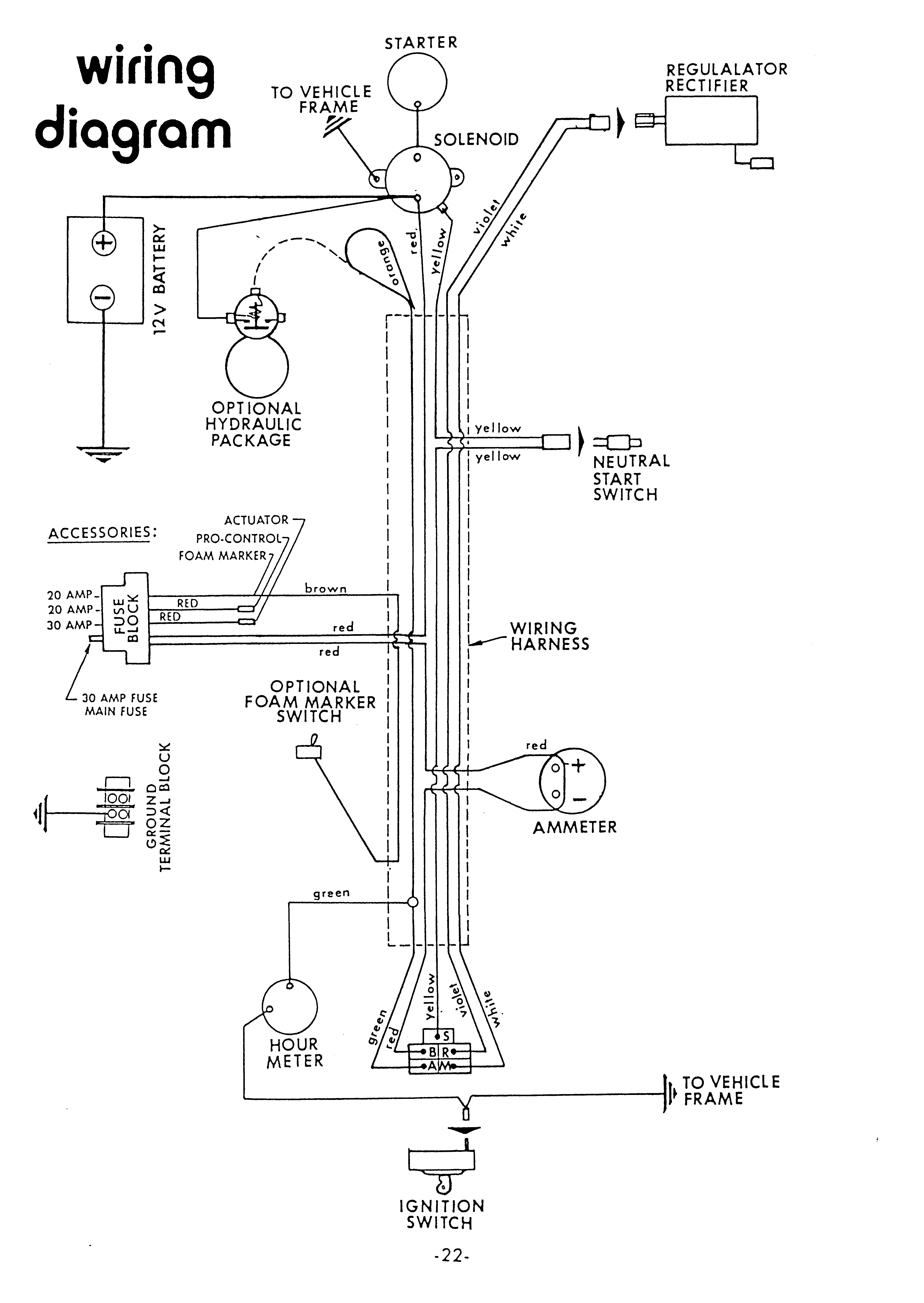 kohler key switch wiring diagram for electric car aerial 18 hp magnum engines circuit