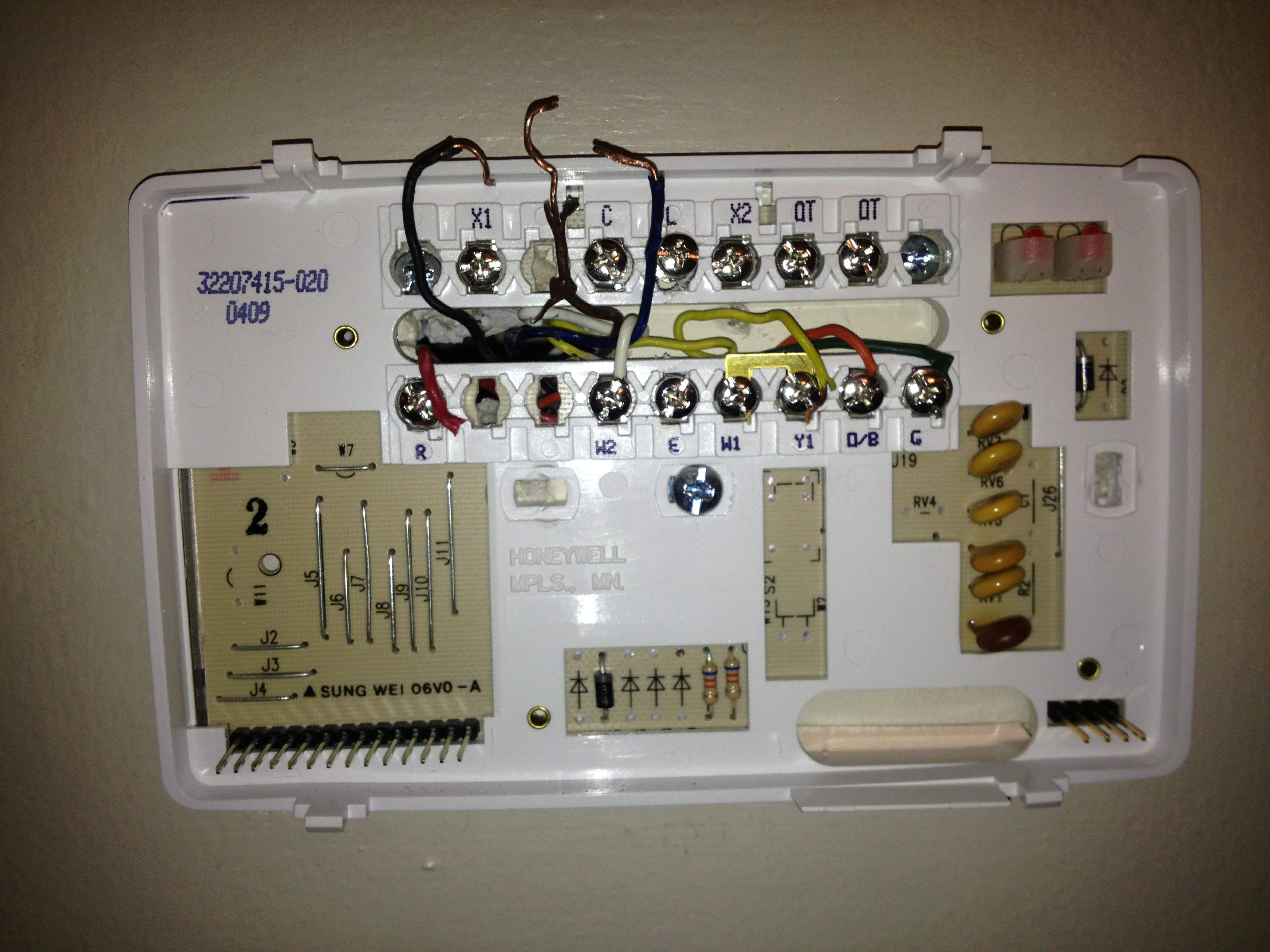 Wiring A Thermostat For Radiant Heat Free Download Wiring Diagrams