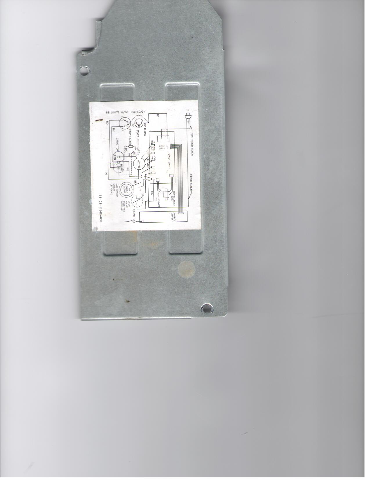 Wiring Diagram Of Fedders Ac C42acd1vf Air Conditioner