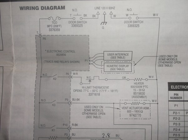 Kenmore Appliance Wiring Diagrams - Year of Clean Water on