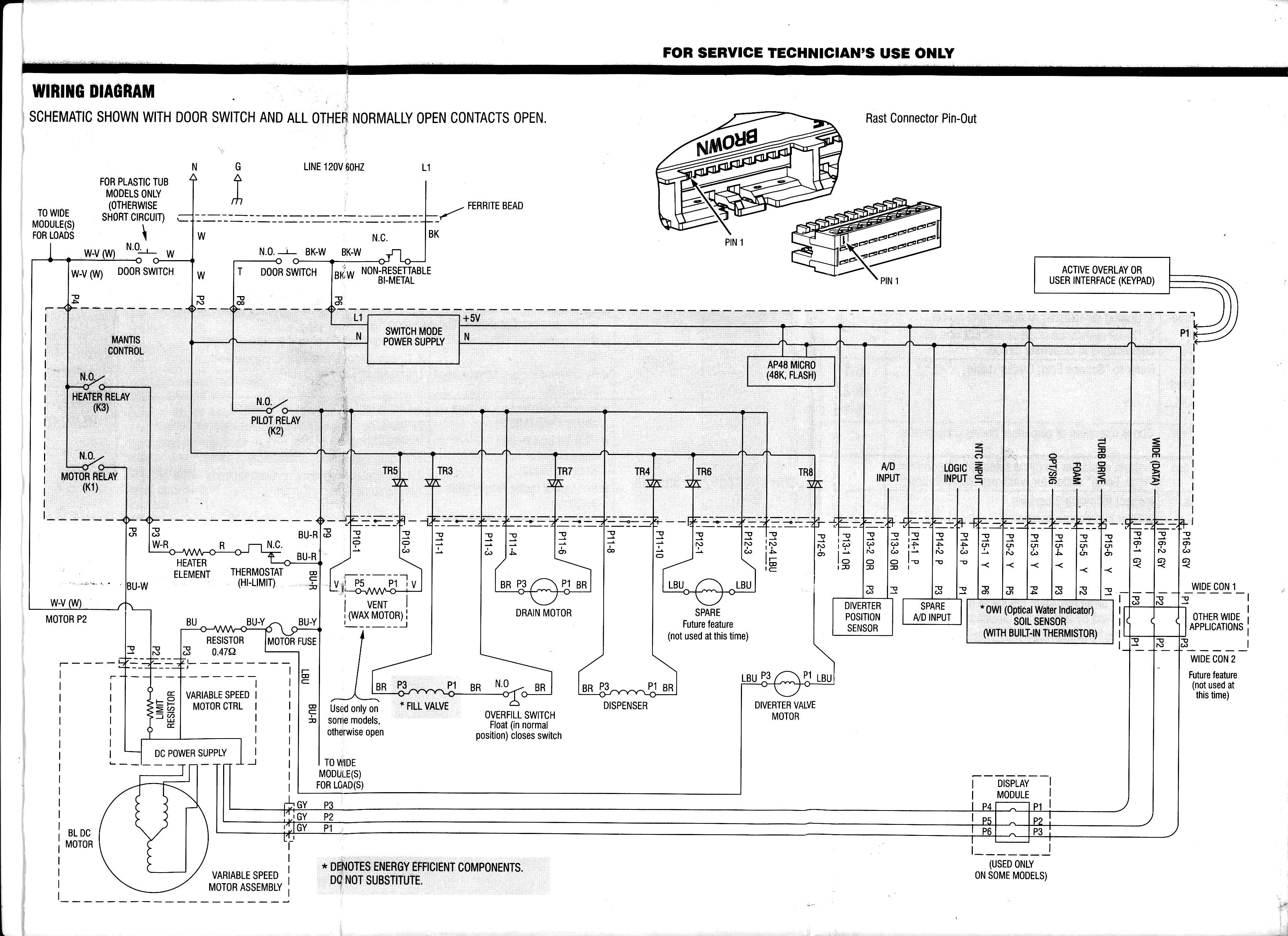 MWY Download Kenmore Dishwasher Motor Wiring Diagram Kindle