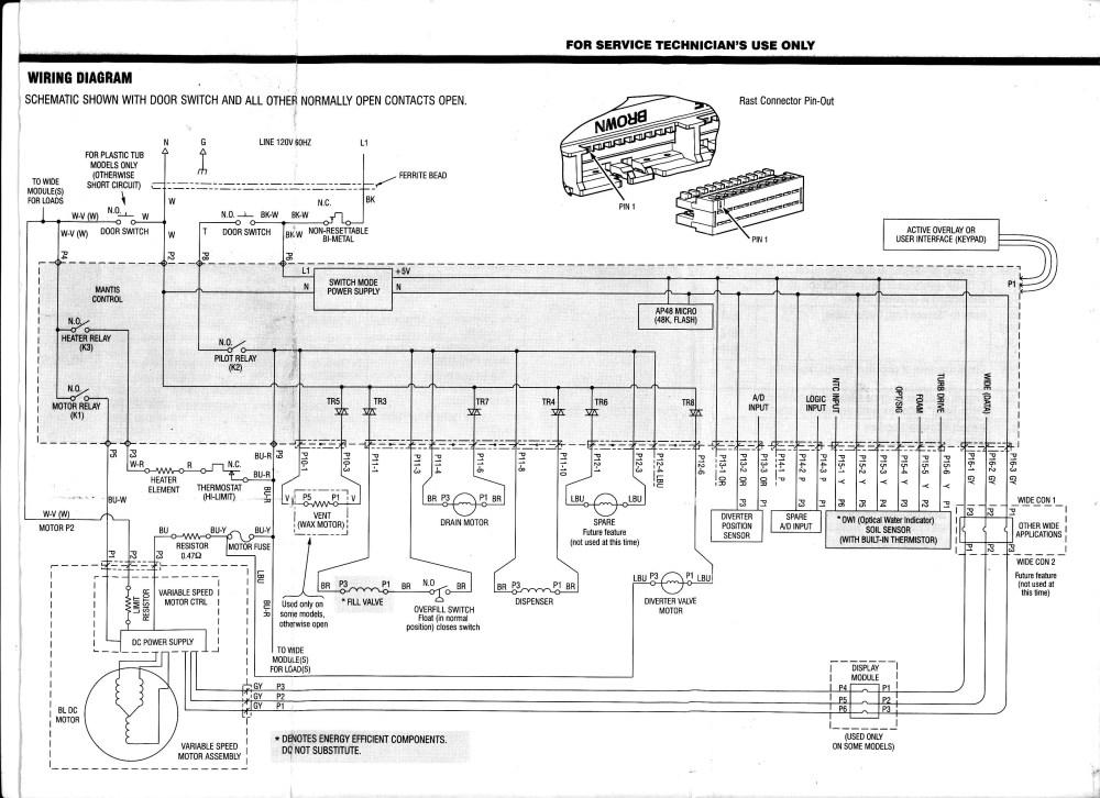 medium resolution of i have a kenmore elite ultrawash dishwasher model no 665 manual washing machine circuit diagram beko washing machine motor wiring diagram
