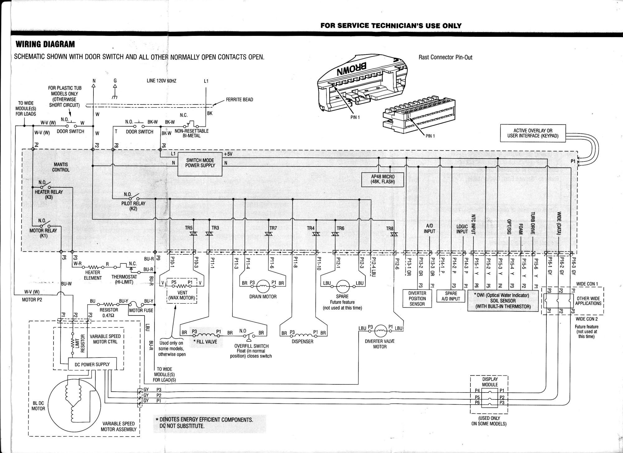 hight resolution of i have a kenmore elite ultrawash dishwasher model no 665 manual washing machine circuit diagram beko washing machine motor wiring diagram