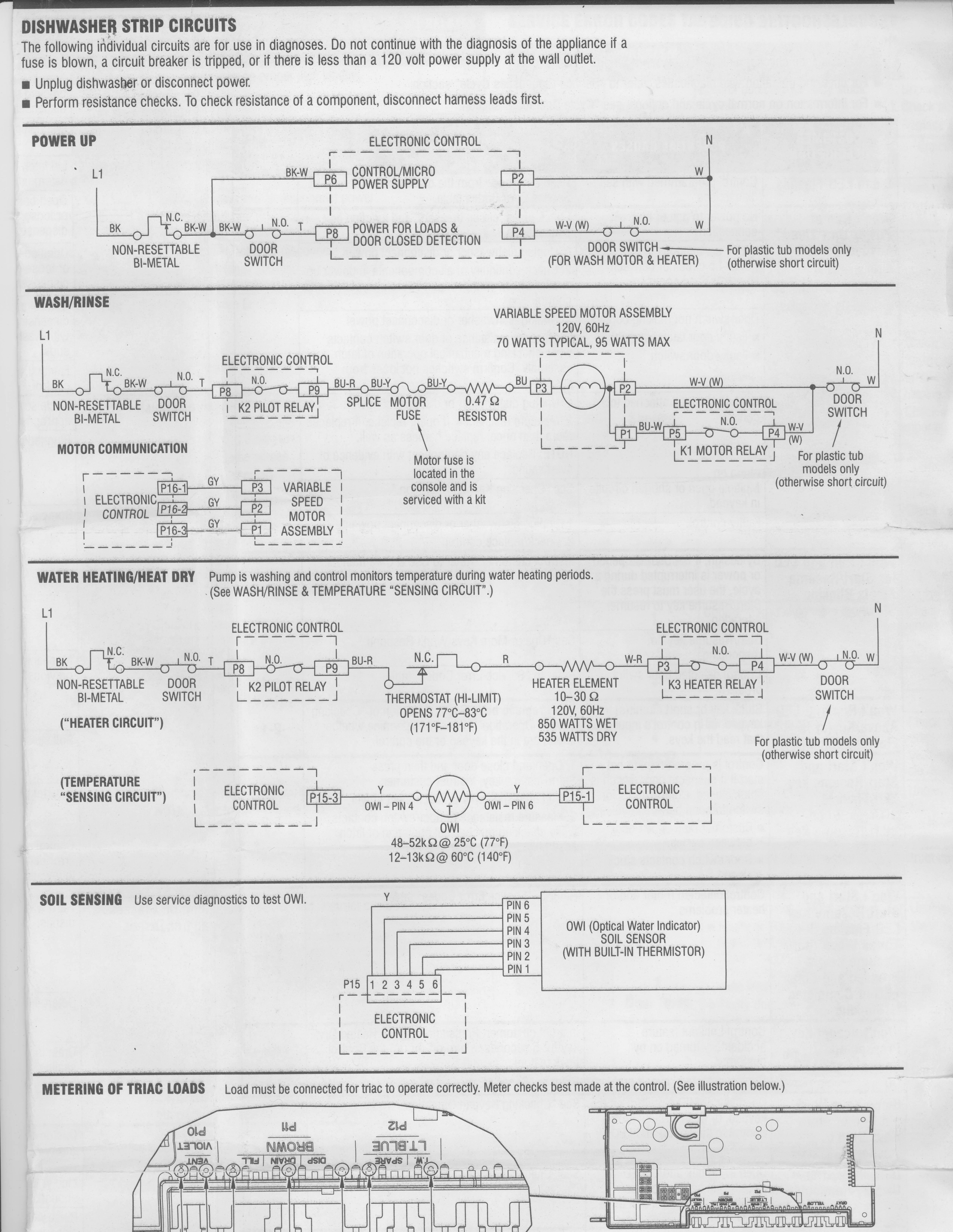 I Have A Kenmore Elite Ultrawash Dishwasher Model No 665
