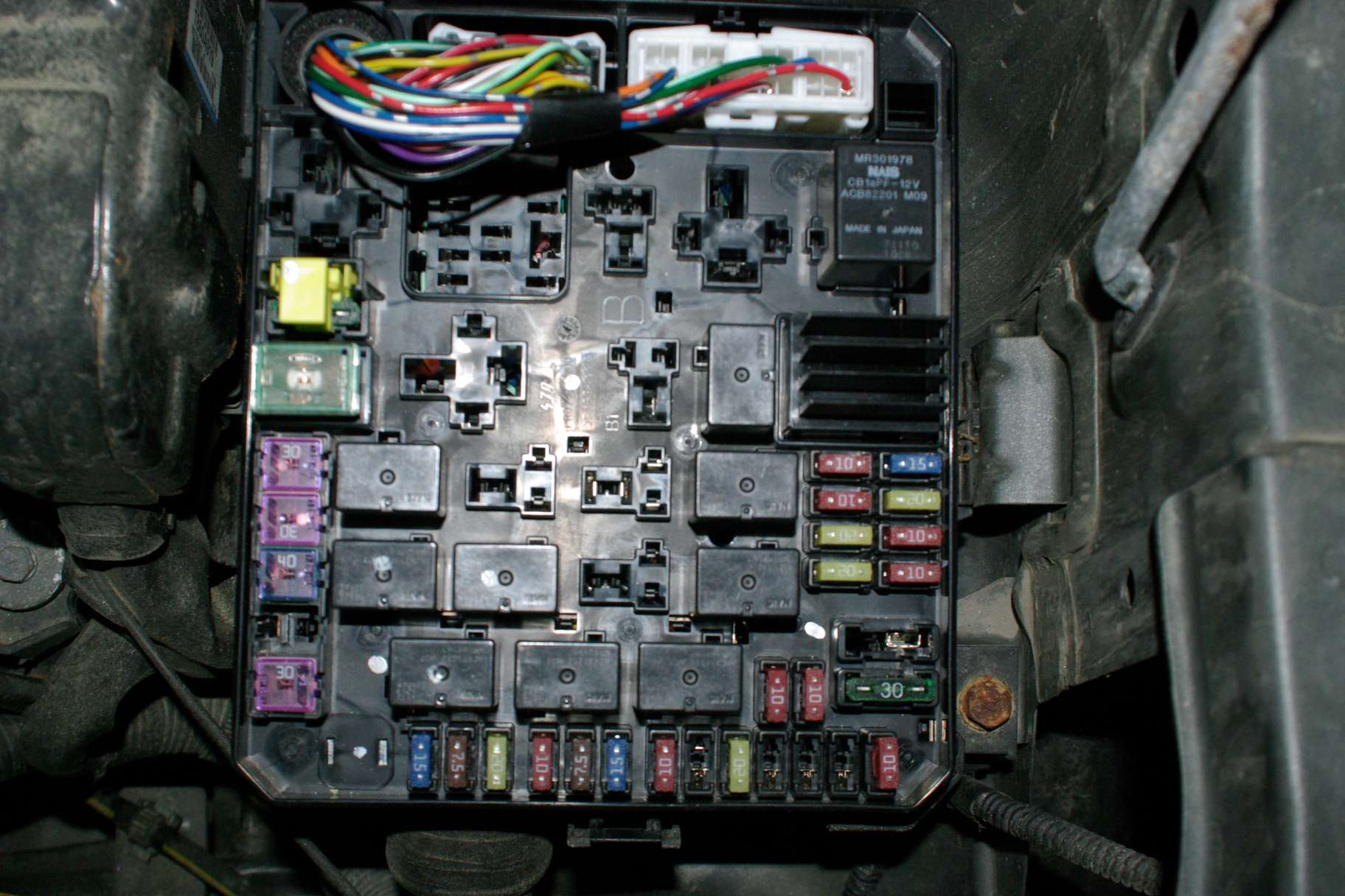 Eclipse Fuse Box Diagram Wiring Schematic Mitsubishi Outlander Xls I Was Pulling Fuses Trying To Locate