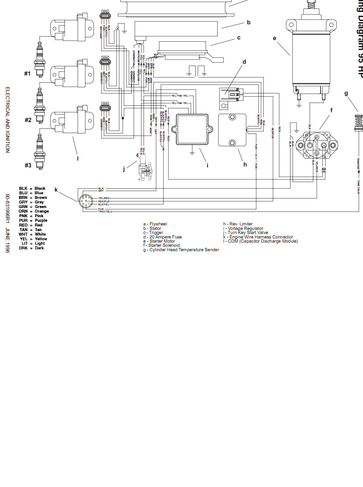 Mercury 60 Hp Wiring Diagram 90 Mercury Outboard Wiring