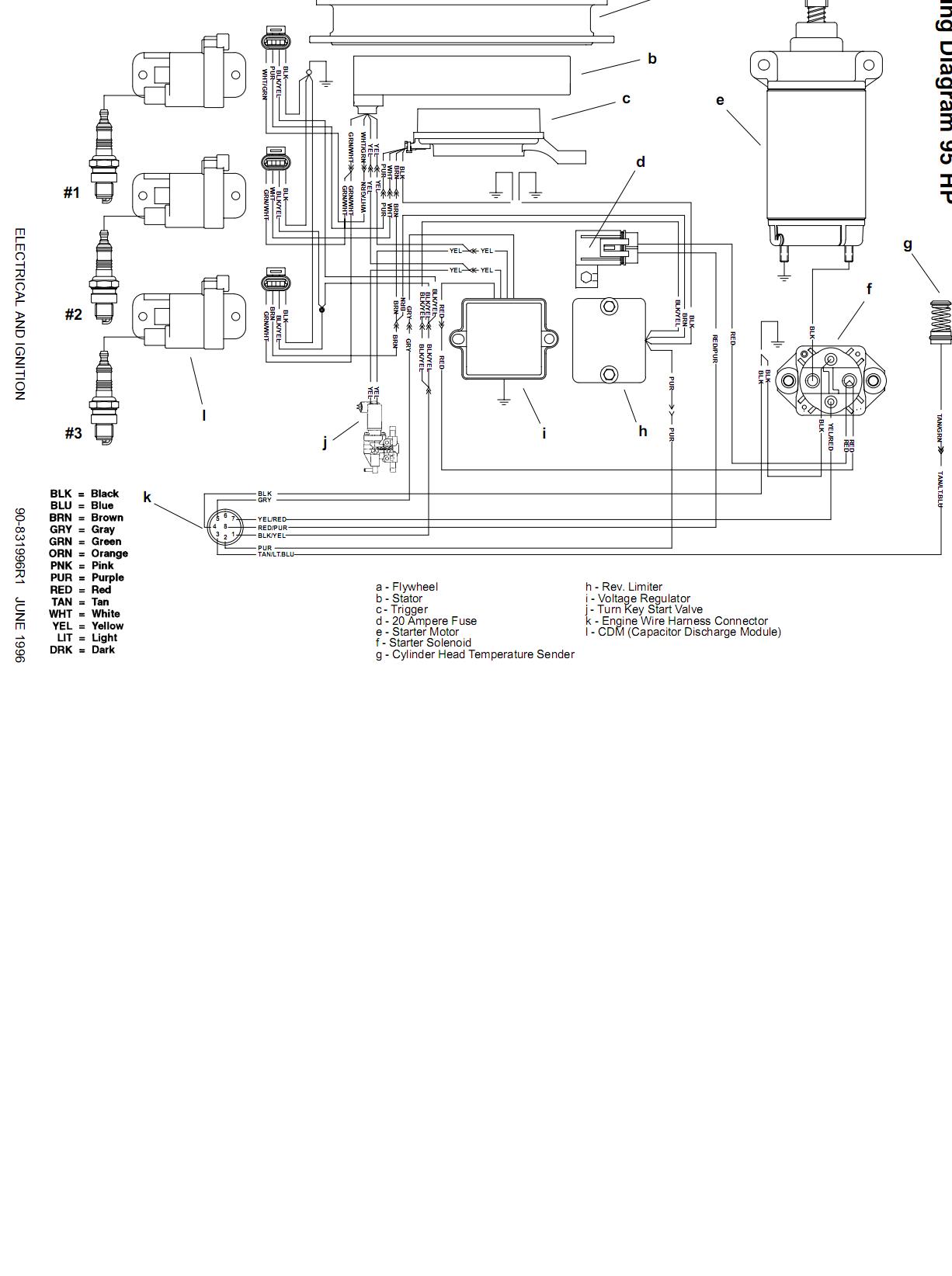 sea ray bowrider wiring diagram