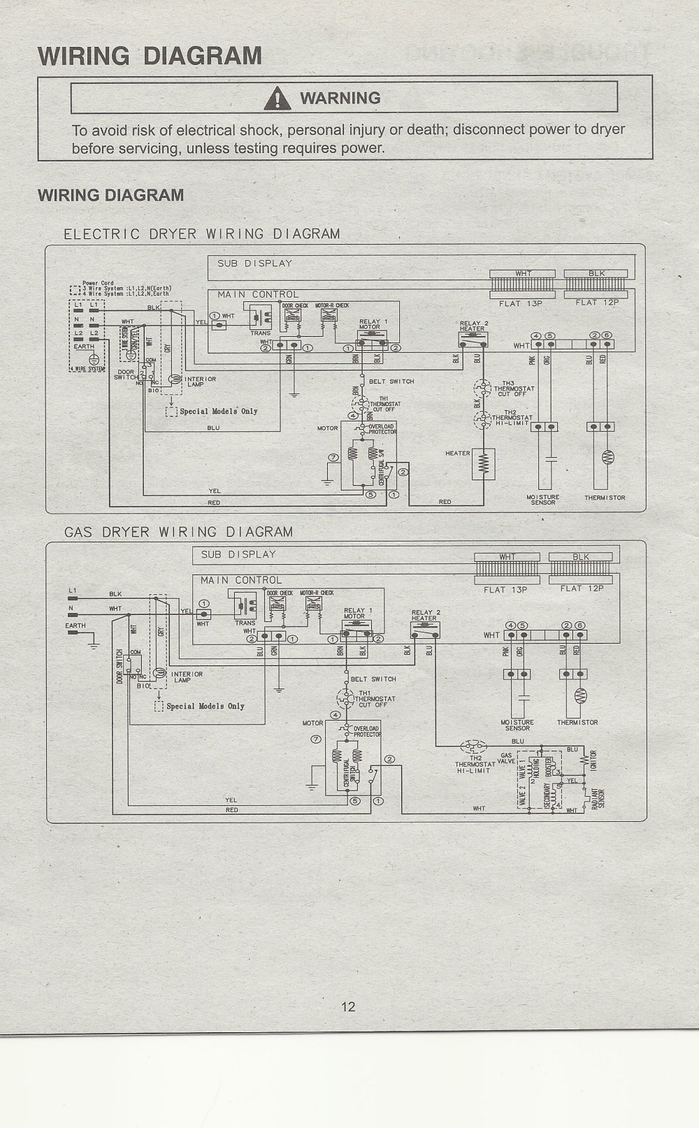 medium resolution of samsung dryer schematic diagram dryer fuse diagram ge clothes maytag bravos dryer thermal fuse diagram