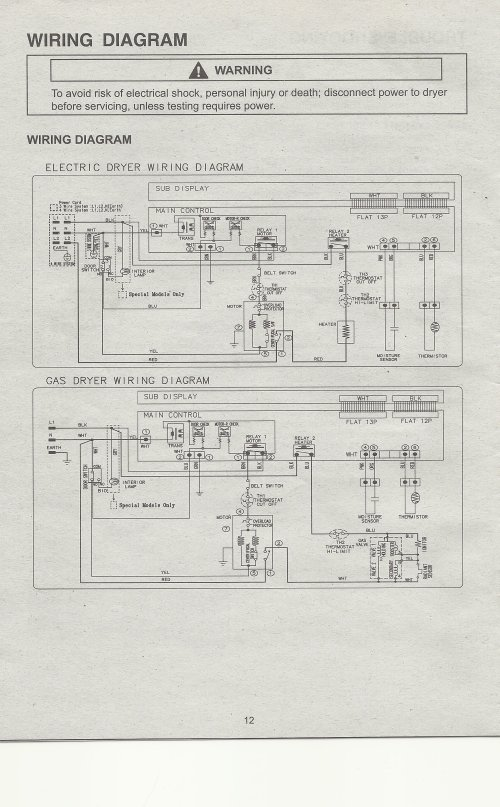small resolution of samsung dryer schematic diagram dryer fuse diagram ge clothes maytag bravos dryer thermal fuse diagram