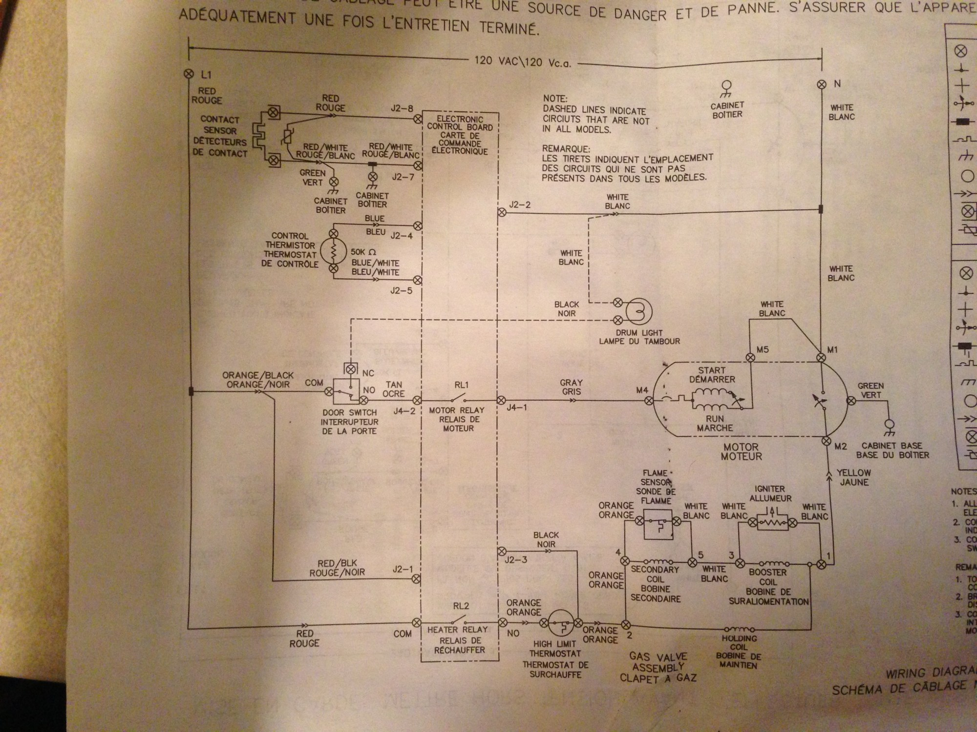 hight resolution of wiring for frigidaire dryer wiring diagram article frigidaire dryer timer wiring diagram