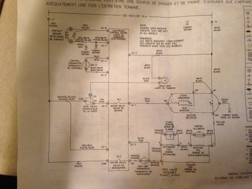 small resolution of wiring for frigidaire dryer wiring diagram article frigidaire dryer timer wiring diagram