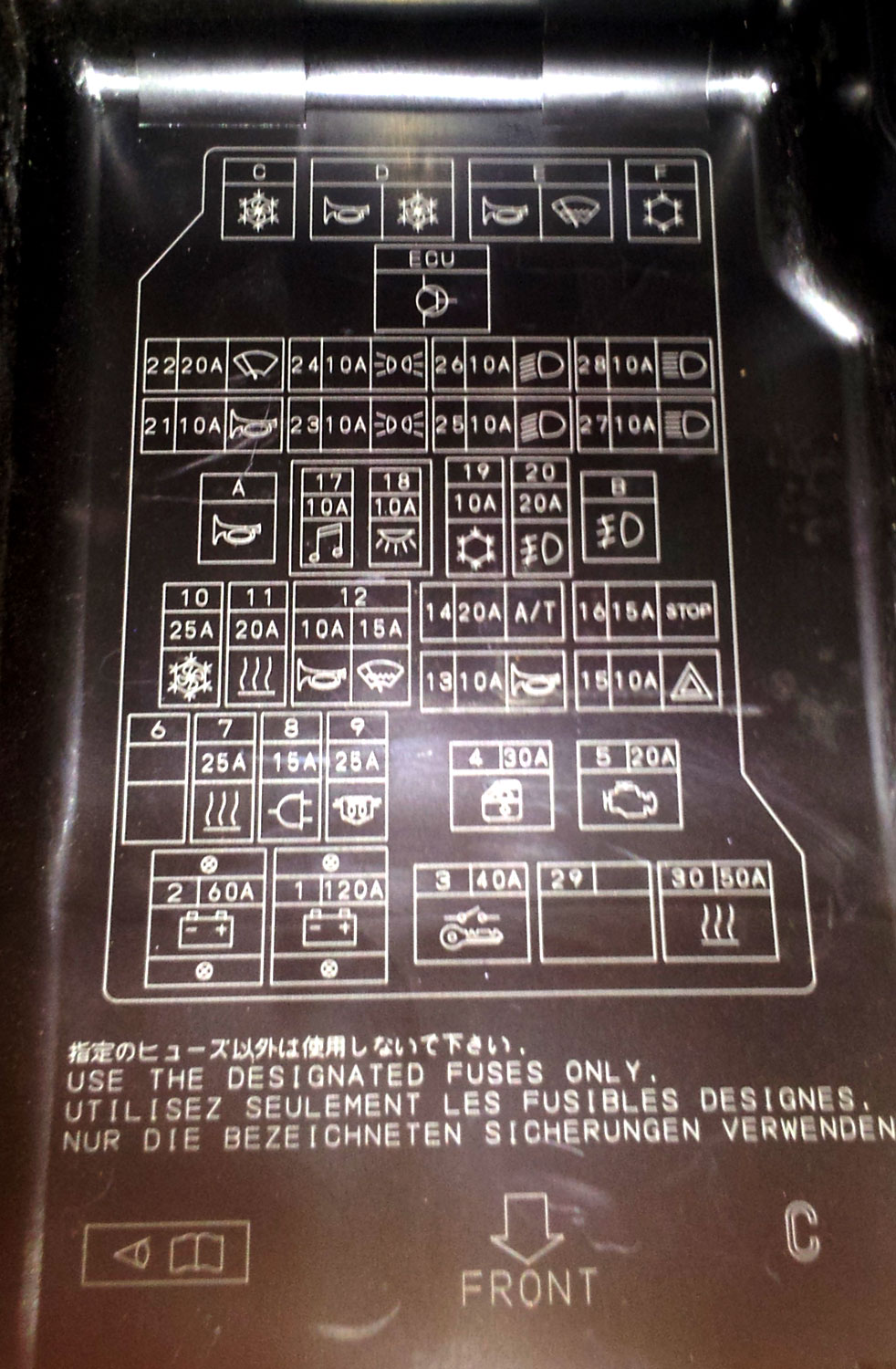 Fuse Box Diagram Together With 2003 Toyota Highlander Fuse Box Diagram