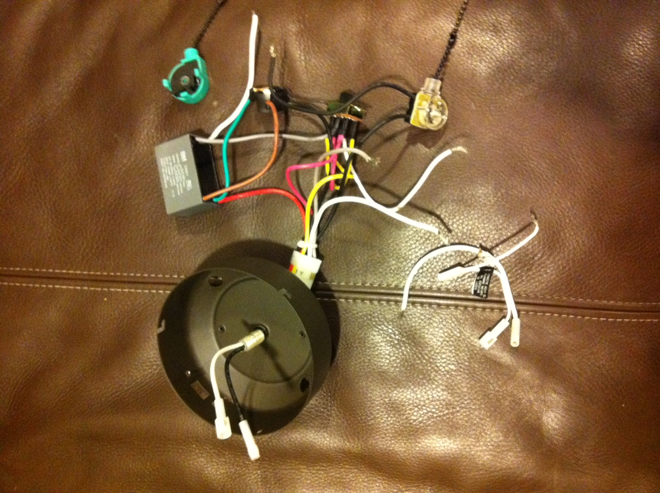 Wiring A Hunter Ceiling Fan Switch