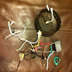 Ceiling Fan Wiring Diagram Reverse Switch Race Car I Installed A Hunter Model No 21434 It Came With