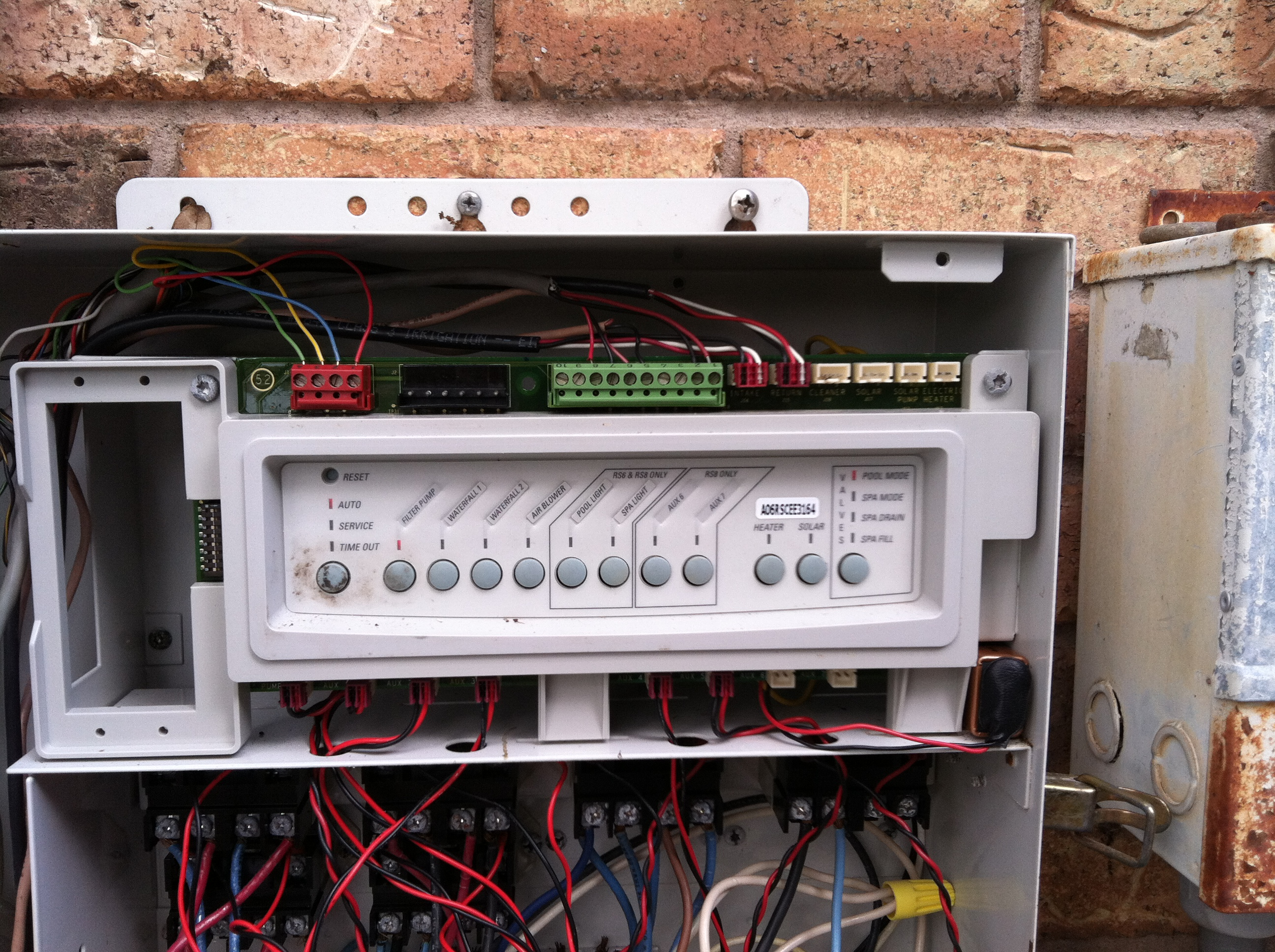 pool sub panel wiring diagram for an electric fuel pump and relay spa control get free image about