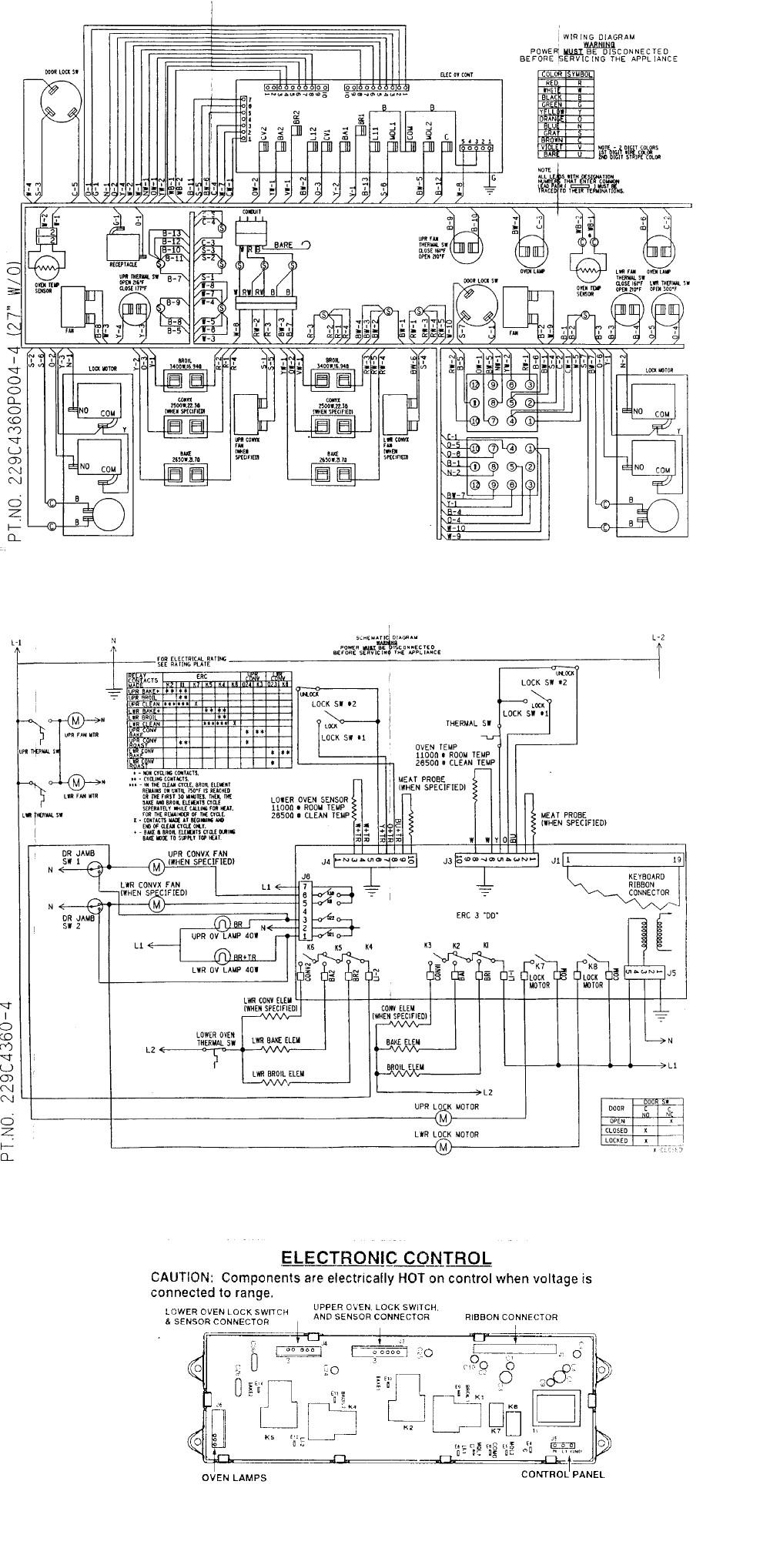 I have a GE double oven model JKP56BA2BB vintage 2001