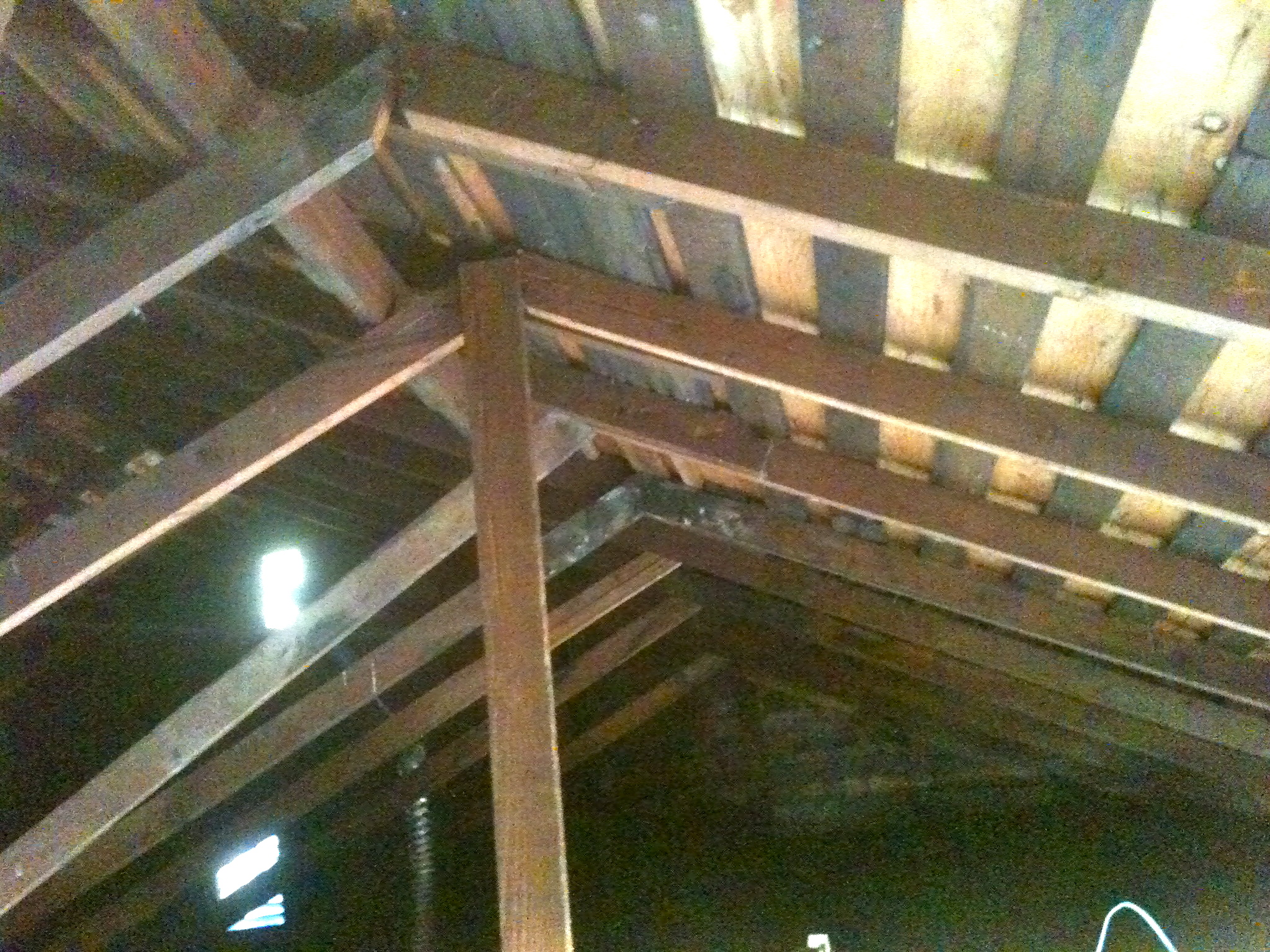 Sagging Ceiling Joists Attic