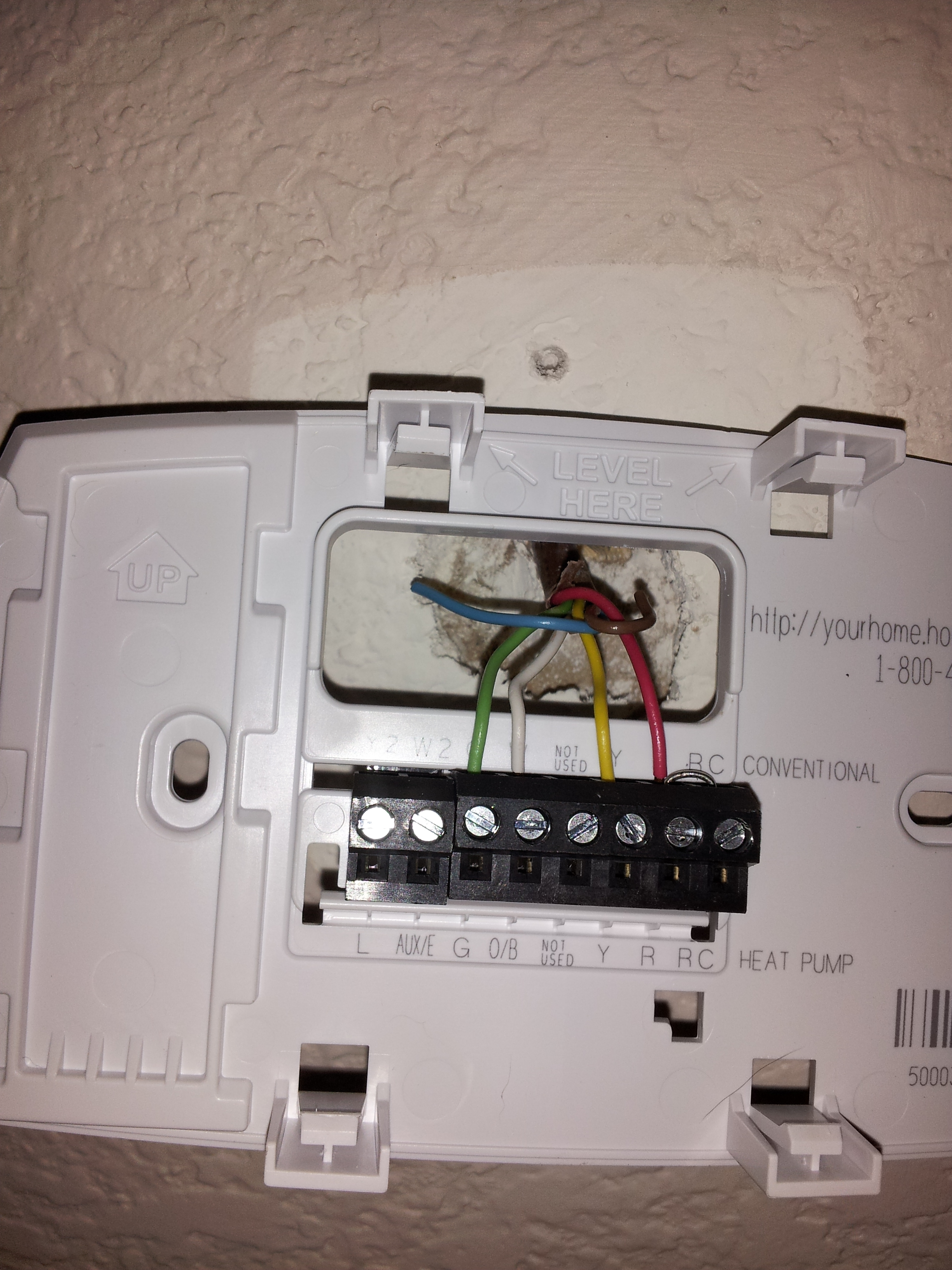 honeywell thermostat rth6350 wiring diagram fender american standard strat hh hi im installing a the i am