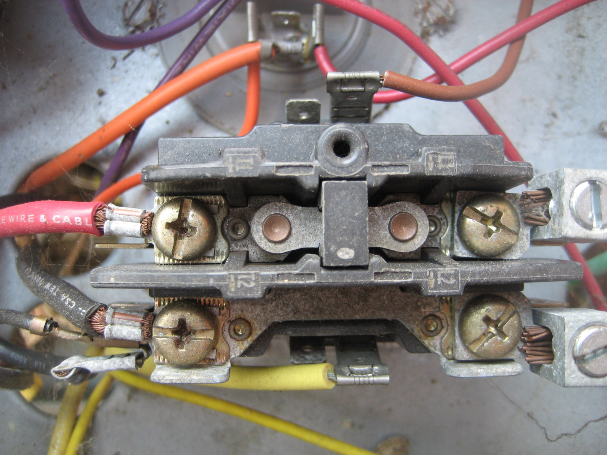 hight resolution of our home ruud central ac unit stopped working yesterday ruud compressor wiring diagram dayton contactor wiring diagram
