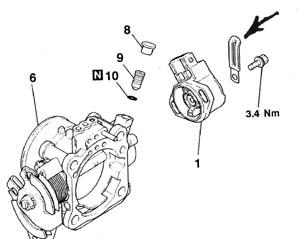 Mitsubishi Montero XLS: while I was changing timing belt I