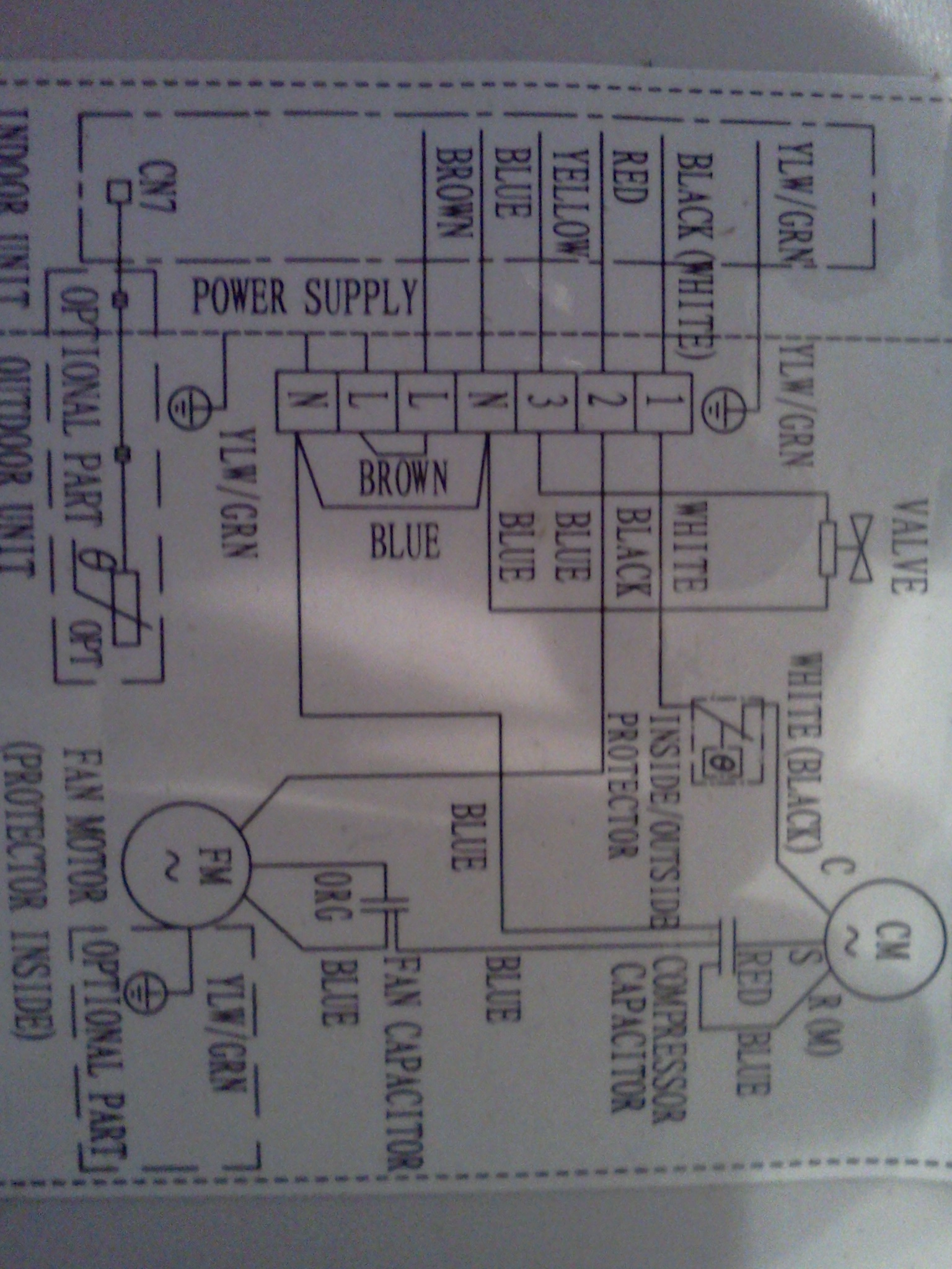 Wiring Diagram For Hvac Unit Also Window Air Conditioner Wiring